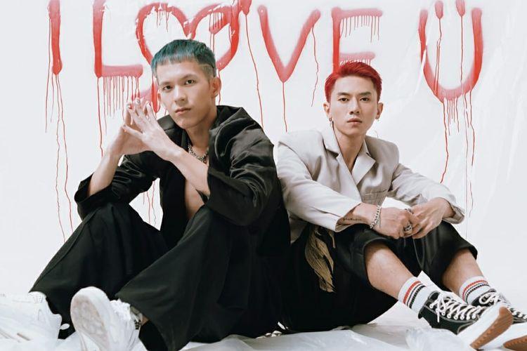 Rapper Jay Yen dan penyanyi Rafael Tan, eks SM*SH