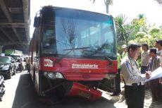 Tabrak Lima Mobil, Sopir Transjakarta Mengaku Rem Blong