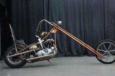 Harley-Davidson Ironhead, Chopper Long Fork ala Ningrat Jawa