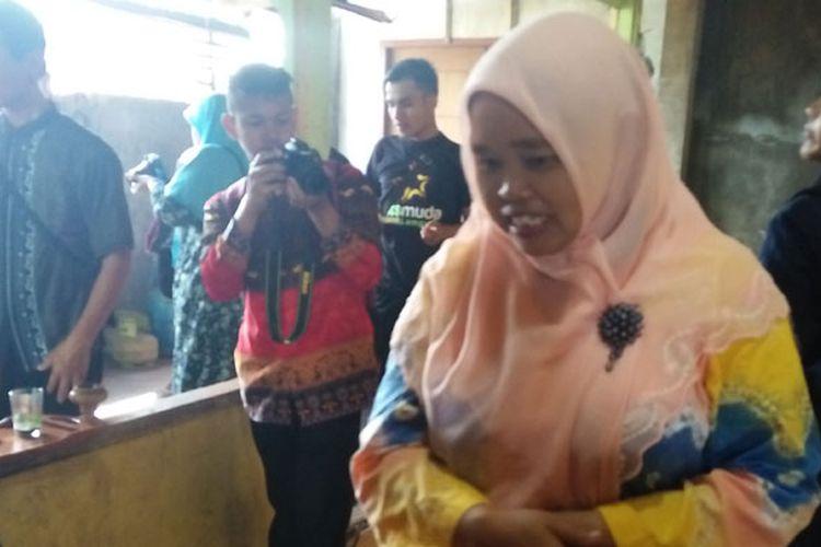 Pengolahan Kopi Luwak milik Sri Wiyatmi di Gang Pekonan, Way Pengaku, Kota Liwa, Kabupaten Lampung Barat, Lampung.