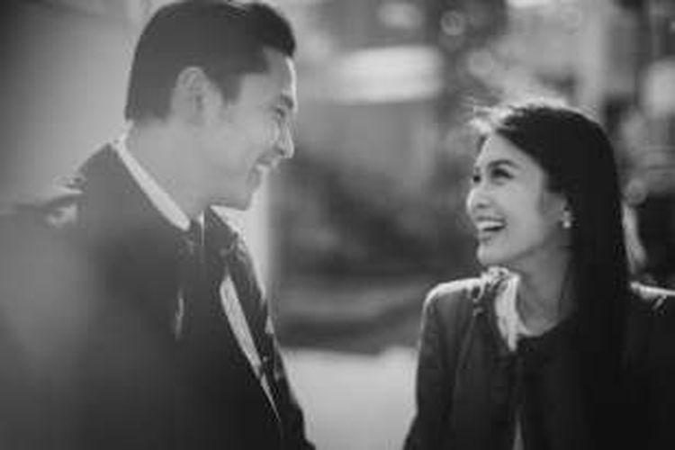 Foto pre-wedding Sandra Dewi dan Harvey Moeis di Jepang