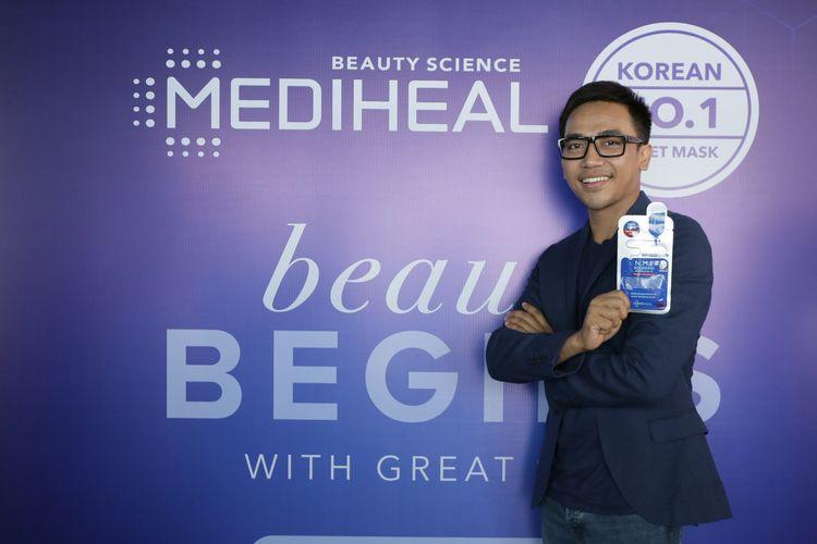Makeup Artist Bubah Alfian diperkenalkan sebagai brand ambassador Mediheal.