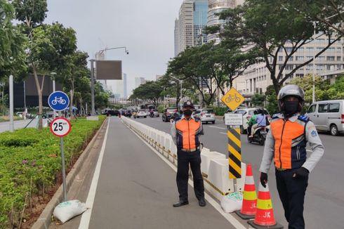 Pembangunan Jalur Sepeda Permanen dan Tugu Ditargetkan Rampung Mei 2021