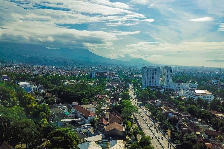 Ilustrasi kawasan Dago, Bandung