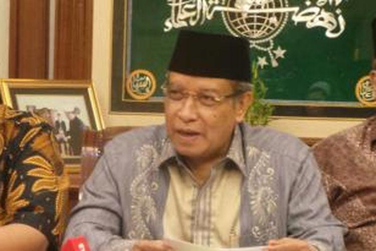 Ketua Umum PB Nahdlatul Ulama Said Aqil Siroj