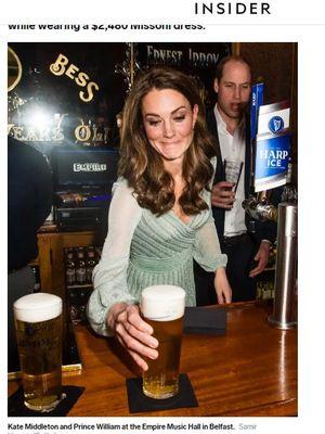 Gaun Missoni Kate Middleton
