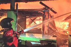 Pasar Tuban Terbakar, Kios dan Los Ludes Dilalap Api