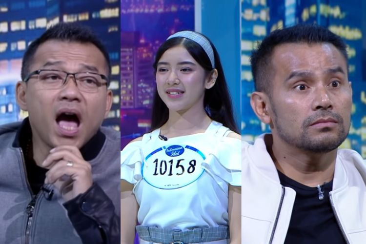 Anang Hermansyah, kontestan Indonesian Idol X, dan Judika.