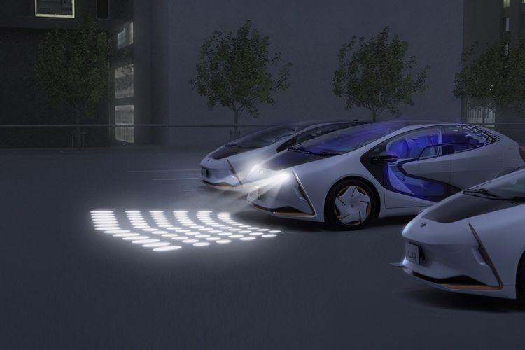 Teknologi canggih pada Toyota LQ memudahkan pengoperasian hanya dengan perintah suara