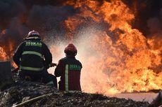 Warga Diimbau Tak Dekati Lokasi Kebakaran Pipa Pertamina di Cimahi
