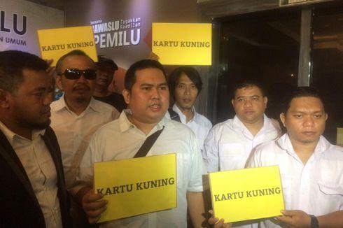 Tiga Pelapor Prabowo Jalani Klarifikasi di Bawaslu