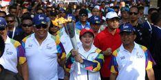 Menko PMK Menjadi Pembawa Api Obor Ke-20 Asian Games 2018