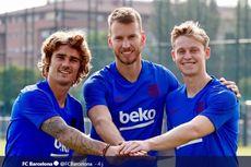 VIDEO, Latihan Perdana Griezmann dan De Jong Bersama Barcelona