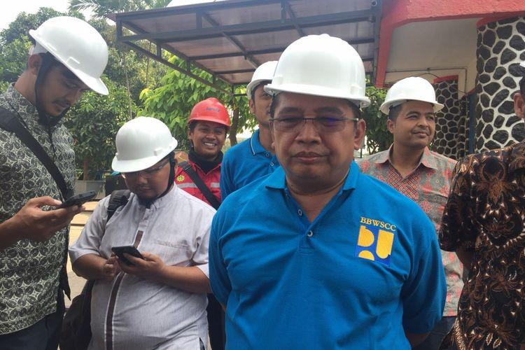 Kepala BBWSCC Bambang Hidayat