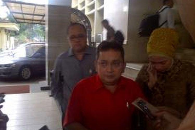 Ketua DPP Bidang Hukum PDI Perjuangan Trimedya Panjaitan