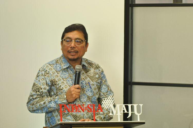 Sekretaris Jenderal (Sekjen) Kementerian Keuangan Hadiyanto di Jakarta, Rabu (15/1/2020).