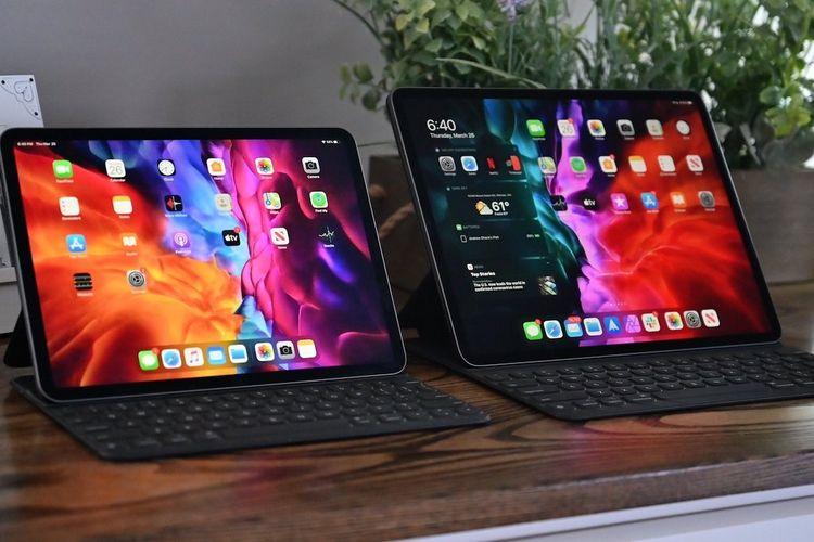 Ilustrasi iPad.
