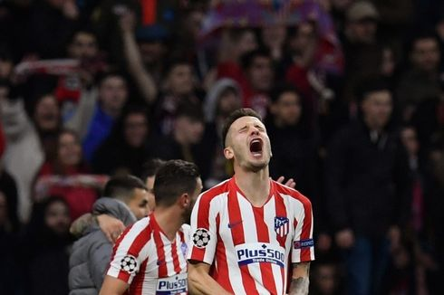 Atletico Madrid Vs Liverpool, Statistik Saul Niguez Kontra The Reds