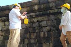 Agar Tidak Ditumbuhi Lumut, Candi Borobudur Disemprot Minyak Atsiri