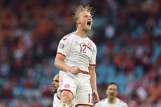 Hasil Wales Vs Denmark - Pesta 4 Gol, Tim Dinamit Lolos ke Perempat Final