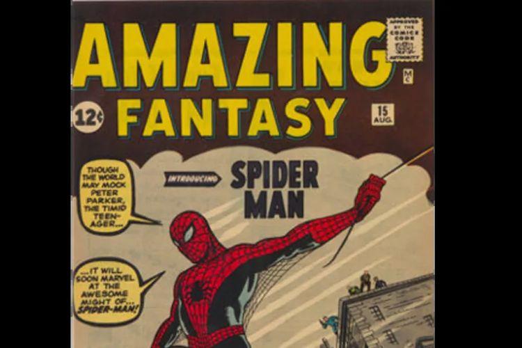 Rumah lelang Heritage Auctions baru saja mencapai tonggak sejarah baru dengan menjual buku komik termahal di dunia  Amazing Fantasy No. 15 seharga 3,6 juta dollar AS atau sekitar Rp 51,1 miliar.