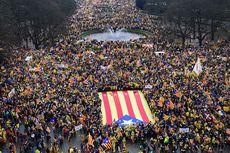Pendukung Kemerdekaan Catalonia Berbaris di Belgia Tuntut Pembebasan Puigdemont