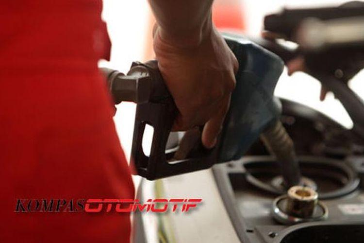 Mengisi bensin sesuai dengan spek kendaraan agar mesin tetap awet