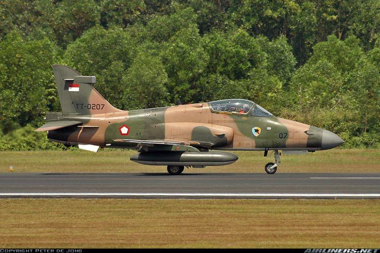 ILUSTRASI: Pesawat BAE Hawk 209 milik TNI Angkatan Udara