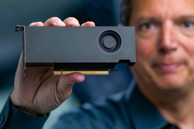 GPU RTX A2000 memiliki dimensi 169 x 69 mm atau setengah dari ukuran GeForce RTX 3090.