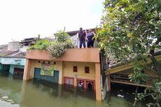 Kala Suami Istri di Periuk Kebanjiran, tapi Tak Mau Dievakuasi karena Takut Tertular Covid-19