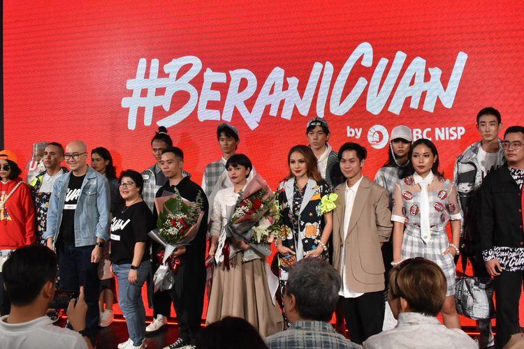 Bank OCBC NISP meluncurkan kampanye Wealth Management #BeraniCuan di Jakarta (12/2).