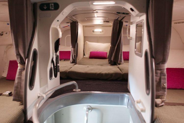Tempat tidur bagi awak pesawat