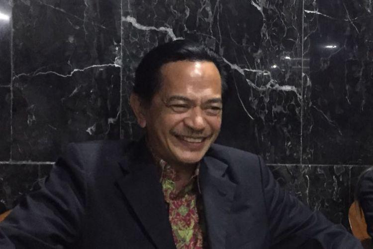 Ray Sahetapy di Kompleks Parlemen, Senayan, Selasa (4/4/2017).