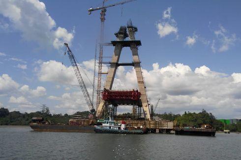 Progres Lambat, Pusat Bakal Ambil Alih Proyek Jembatan Pulau Balang