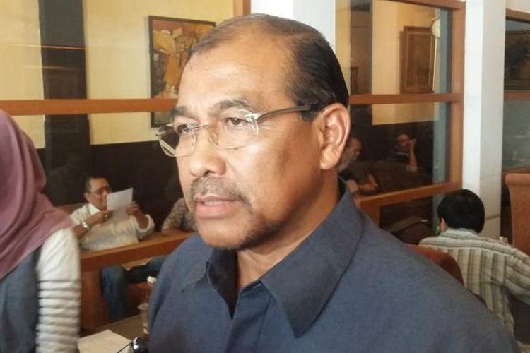 Anggota DPD RI Nono Sampono, saat ditemui di Cikini, Jakarta Pusat, Minggu (8/11/2015).