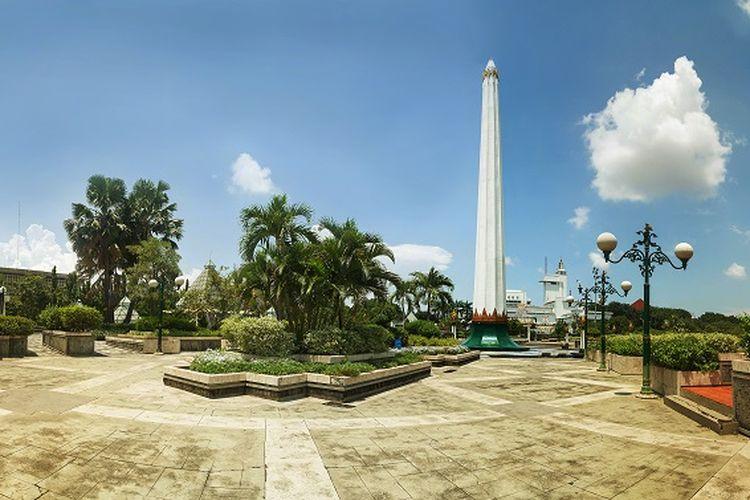 Monumen Tugu Pahlawan Surabaya.