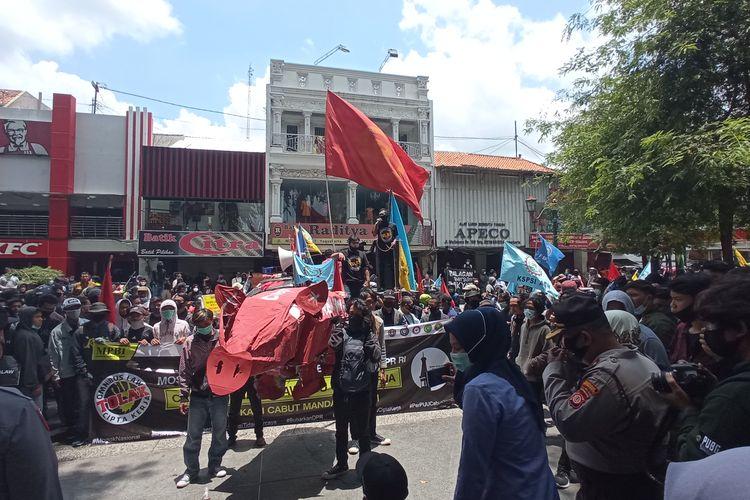 MPBI memadati depan DPRD DIY, Malioboro Yogyakarta