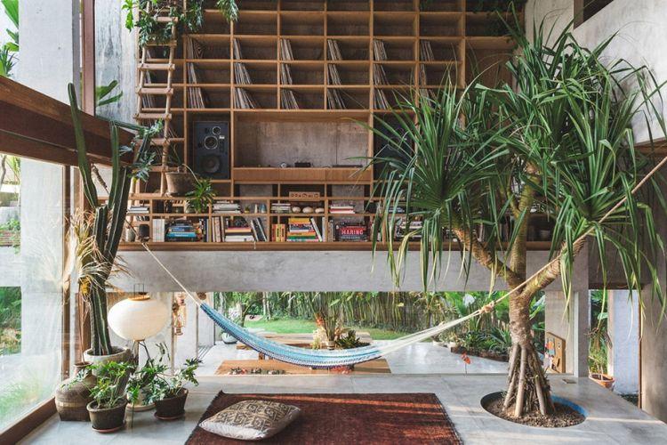 Desain Rumah Tropis Di Bali Tak Beraturan Tapi Menginspirasi