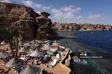 Mesir Bangun 36 Km Tembok Beton Kelilingi Resor Wisata Populer Laut Merah