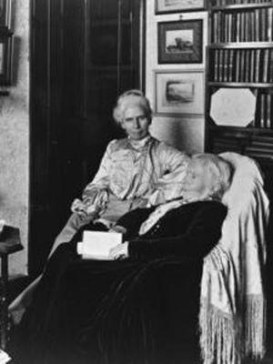 Elizabeth Blackwell dan putrinya, Katherine Berry. (The Schlesinger Library, Radcliffe Institute, Harvard University)