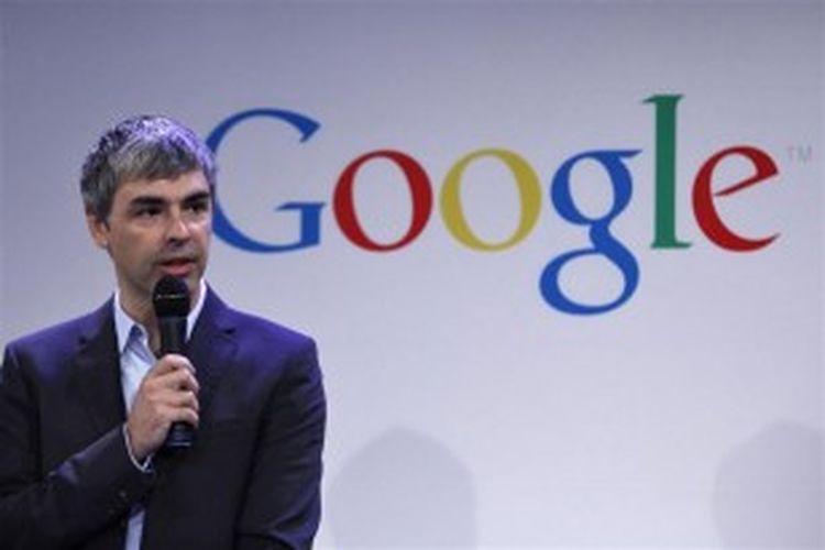 Salah seorang pendiri Google, Larry Page