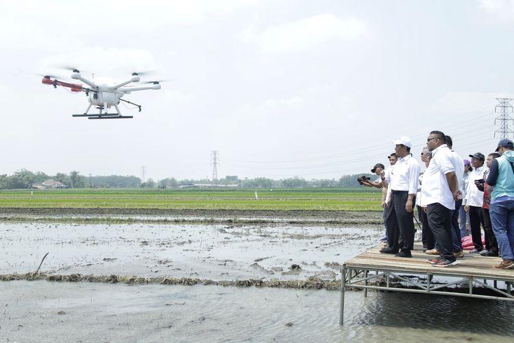 Drone Penebar Benih Siap Digunakan Petani Indonesia