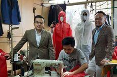 Dua Desainer Indonesia Produksi APD untuk Tim Medis Tangani Covid-19