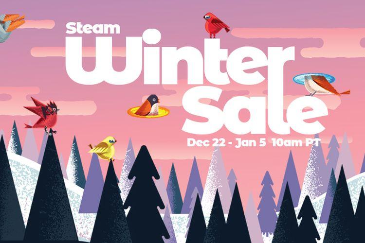 Poster Steam Winter Sale 2020