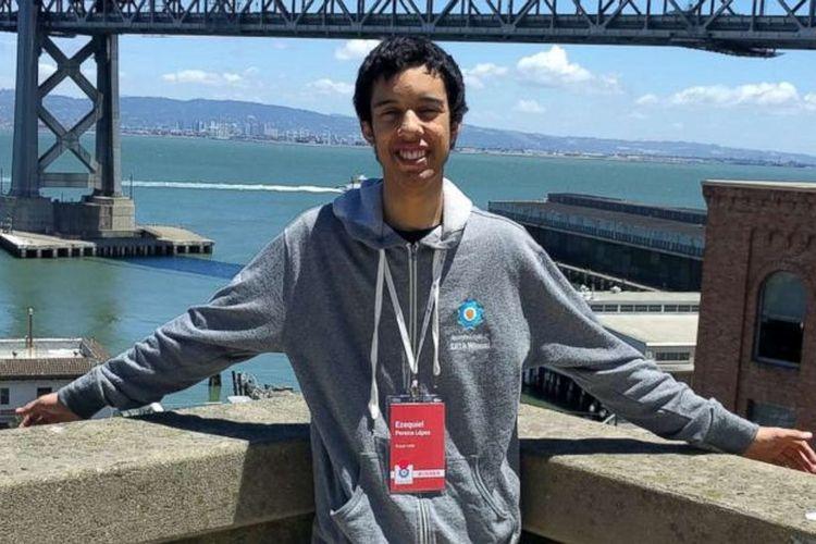 Ezequiel Pereira remaja asal Uruguay yang mendapat hadiah Rp 500 juta dari Google