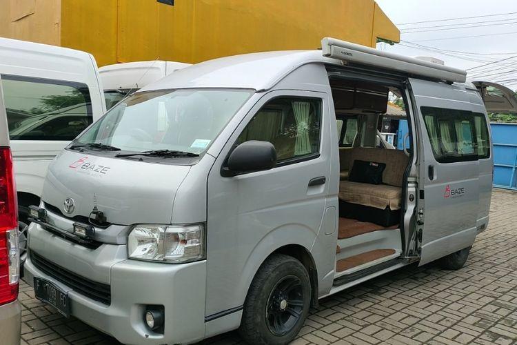 Toyota HiAce motorhome buatan Baze