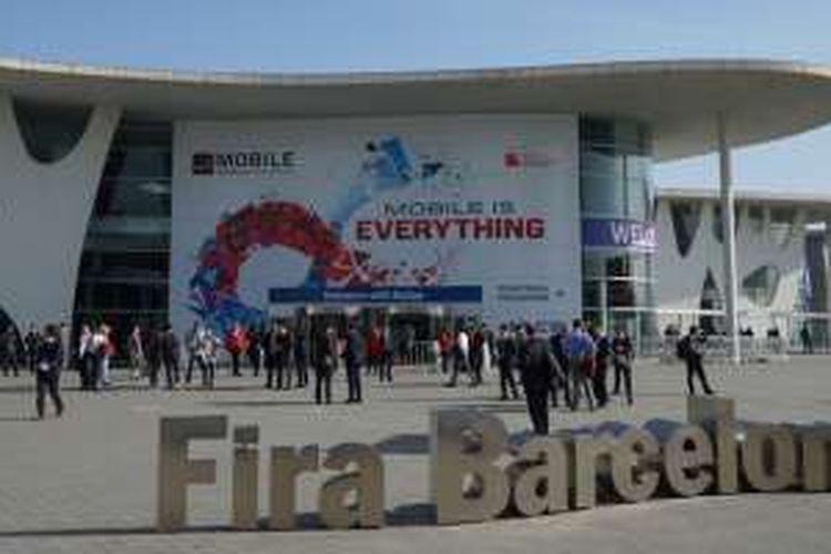 Arena Mobile World Congress 2016 di Fira Gran Via, Barcelona, Spanyol