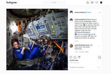 Komentari Isolasi Virus Corona, Astronot Ini Cerita Pengalaman Setahun di Luar Angkasa
