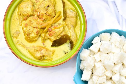 Resep Opor Ayam Spesial Pakai Serundeng untuk Sajian Lebaran
