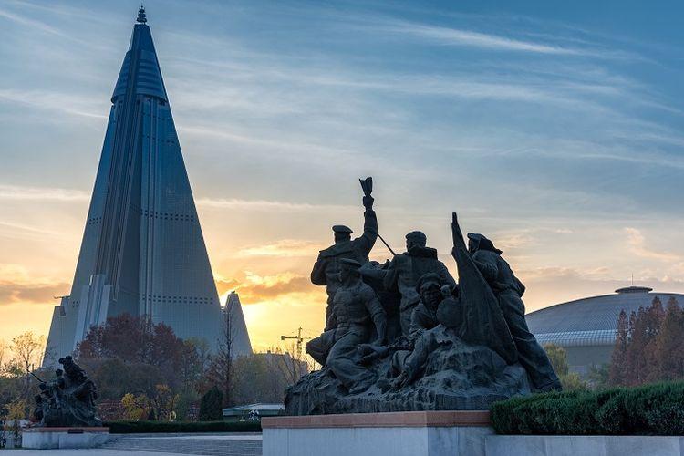 Ilustrasi Korea Utara.